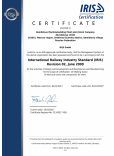 International Railway Industry Standard (IRIS)